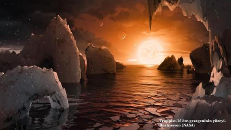 NASA Dünya benzeri 7 yeni gezegen keşfetti!