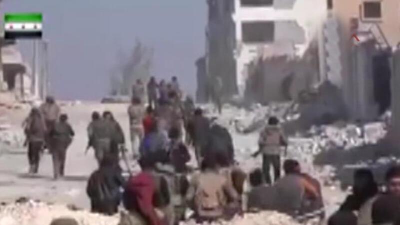 ÖSO, El Bab merkezine ilerleyişinin görüntüleri yayınladı