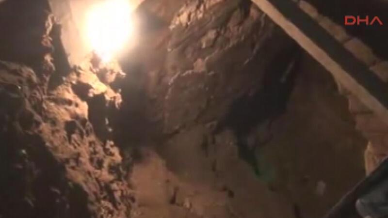 Sultanahmet'te kaçak kazı yapan bir kişi yakalandı