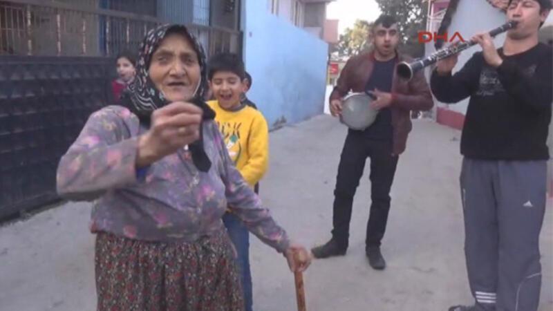 Manisa Ceza ödendi Fatma Nine nöbetten kurtuldu