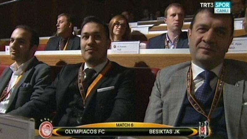 Beşiktaş'ın UEFA'da rakibi Olympiakos oldu