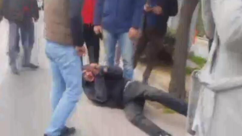 Beşiktaş'ta hırsıza meydan dayağı