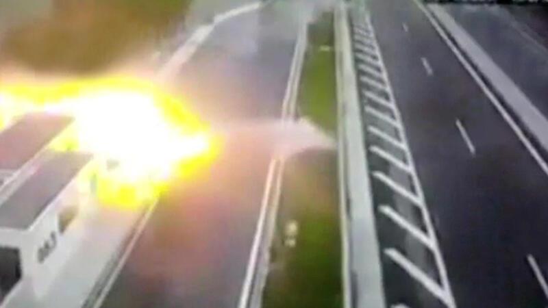 Yunanistan'da korkunç kaza