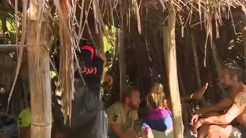 Survivor'da Ünlüler adası paramparça oldu!