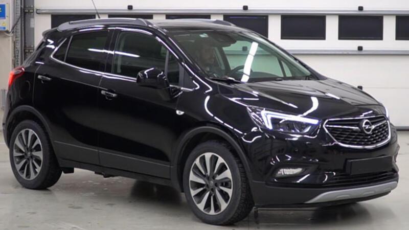 Opel MokkaX test sürüşü