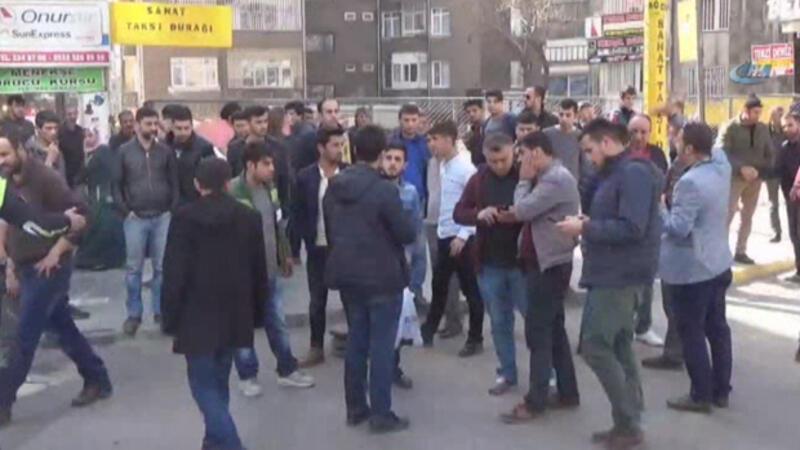 Diyarbakır'da satırlı, sopalı, pitbullu feci kavga...
