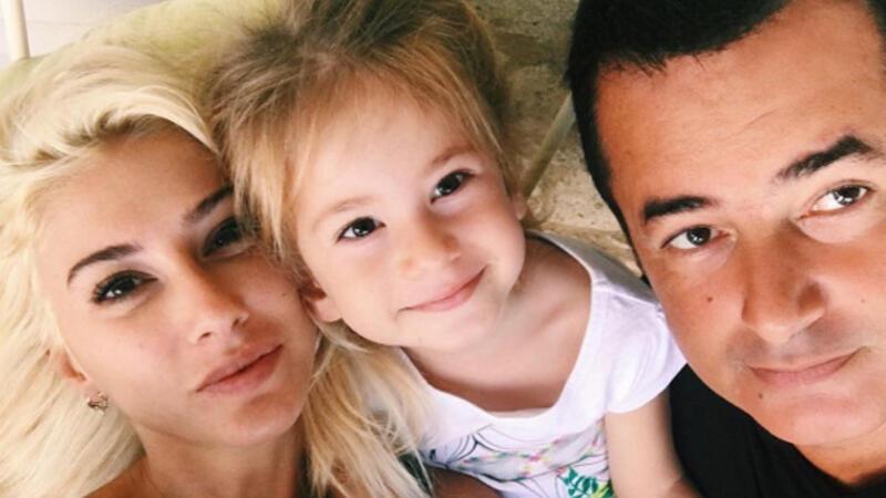 Acun Ilıcalı'nın 4 yaşındaki kızı su gibi İngilizce konuşuyor