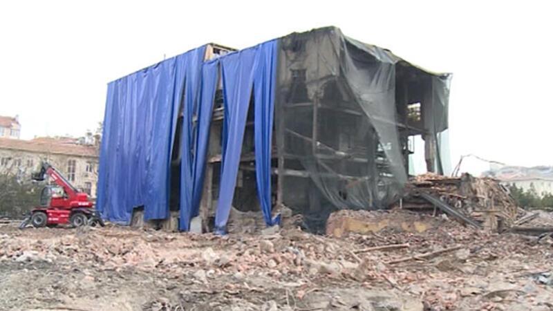 Ankara'da tartışma yaratan yıkımla ilgili flaş karar