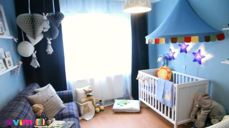 Ailenin yeni üyesine güvenli bir oda | Evim