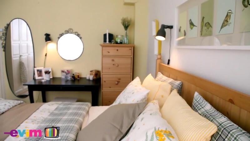 Küçük yatak odasına bol işlevli çözümler | Evim