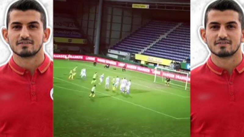 Emrah Başsan De Graafschap maçında frikikten gol attı