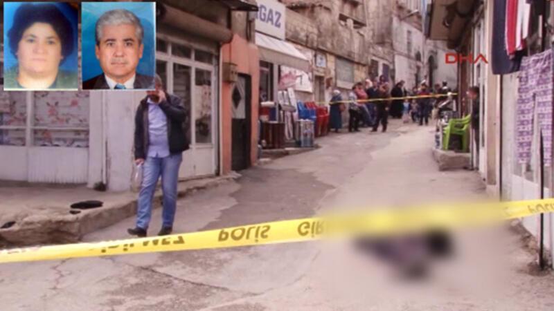 Ayrı yaşadığı eşini sokakta tabancayla öldürüp, intihar etti