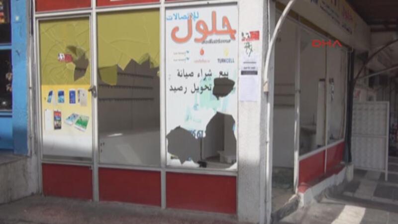 Şanlıurfa'da Suriyeli dükkanlara saldırı