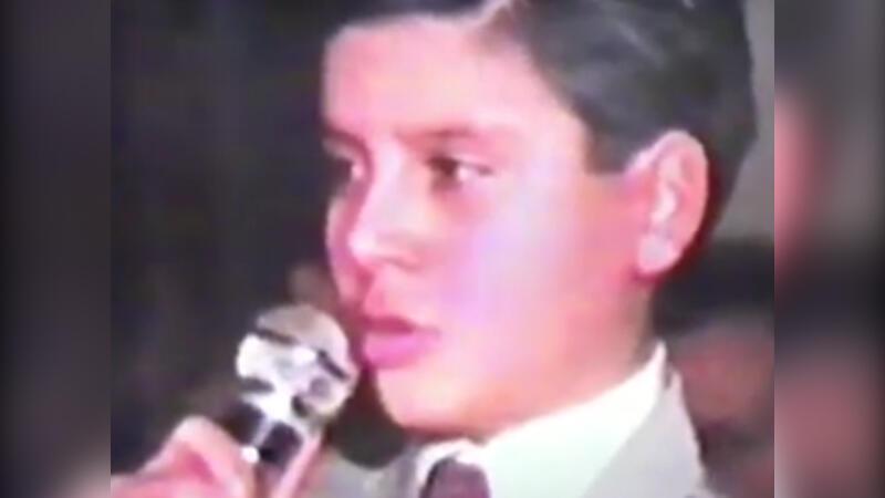 Alişan'ın 11 yaşındaki görüntüsü