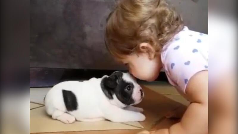 Gerçek sevginin en tatlı hali!