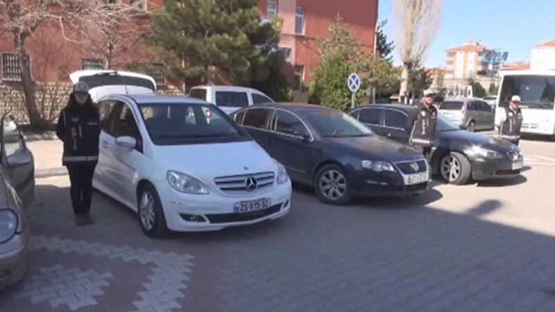 Aksaray'da kaçak otomobil operasyonu: 4 gözaltı