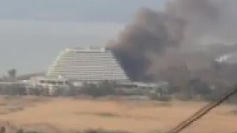 İzmir'de 5 yıldızlı otelde korkutan yangın