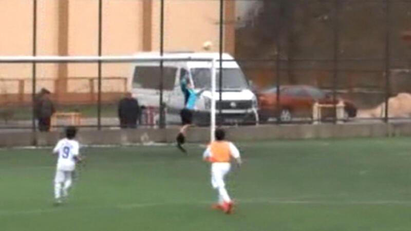 Ordu'da 13 yaşındaki çocuğun 25 metreden attığı golü hakem görmedi