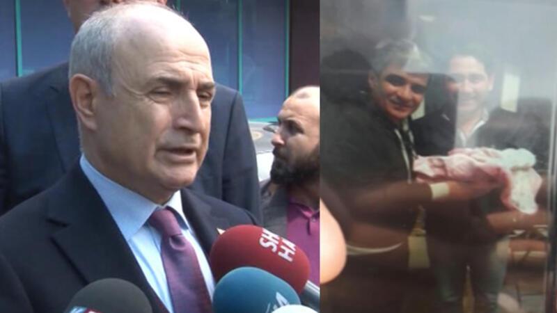 İbrahim Erkal için hastane önünde gözyaşı