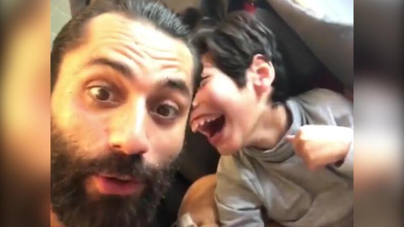 Çılgın Sedat ve oğlundan duygulandıran paylaşım!