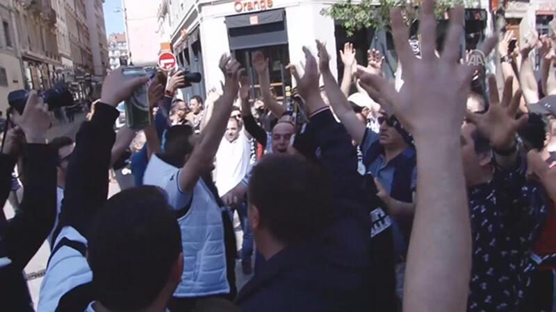 Fransa'da Beşiktaş coşkusu