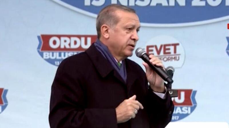 Cumhurbaşkanı Erdoğan Ordu'da konuştu