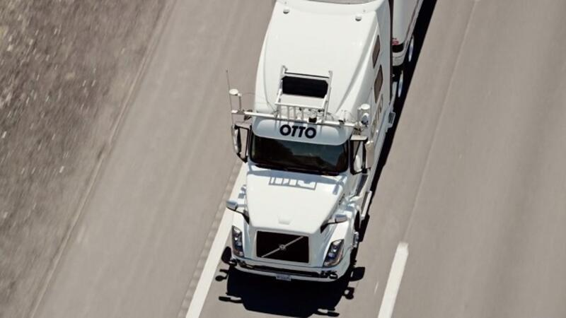 OTTO-self driving trucks