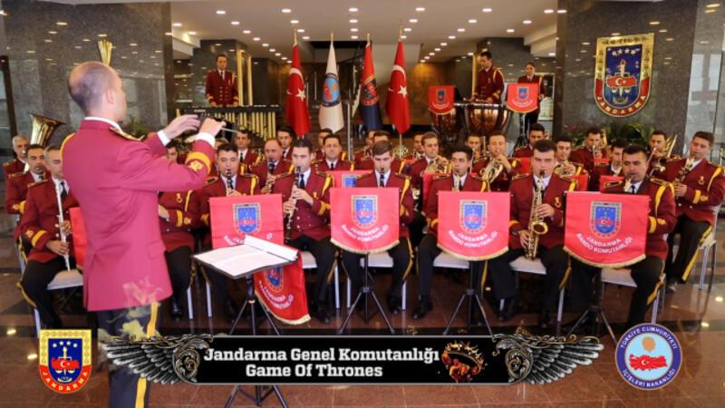 "Jandarma'dan ""Game Of Thrones"" müziği!"