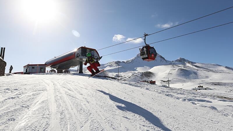 'Mayor says why ski lovers should come to Mount Erciyes'