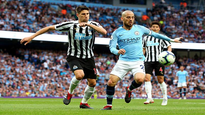 Manchester City: 2 Newcastle United:1 (MAÇ ÖZETİ)