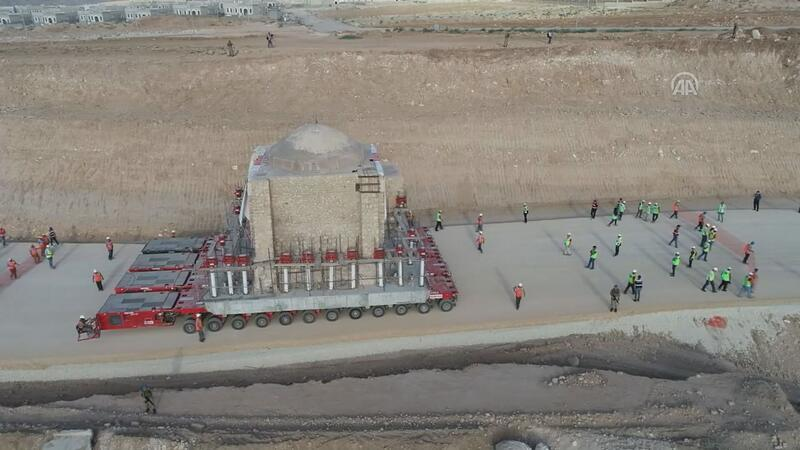 Turkey moves another historic building to save it from dam waters