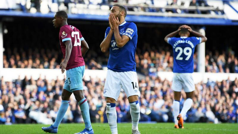Everton 1-3 West Ham United (MAÇ ÖZET)