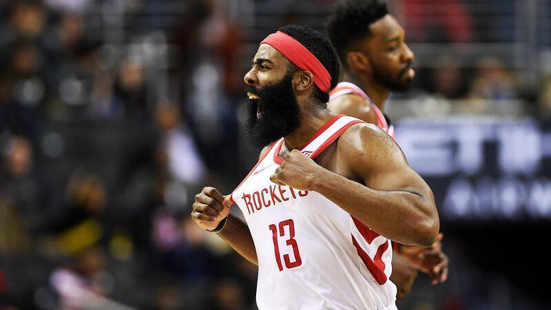 James Harden'dan tam 54 sayı!