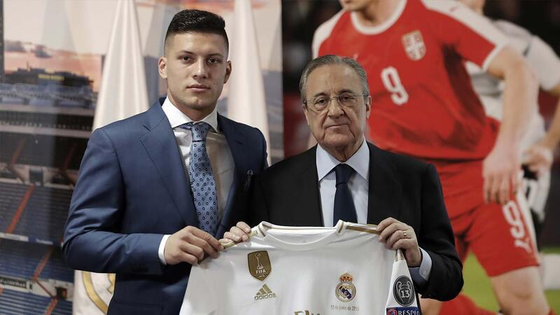 Luka Jovic Real Madrid'de!