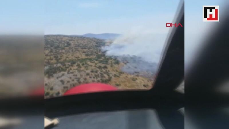 Forest fire consumes 25 acres of land in NW Turkey