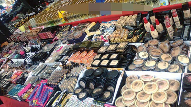 Kimyasal tehlike saçan sahte kozmetikler internette, çarşı, pazar tezgahlarında
