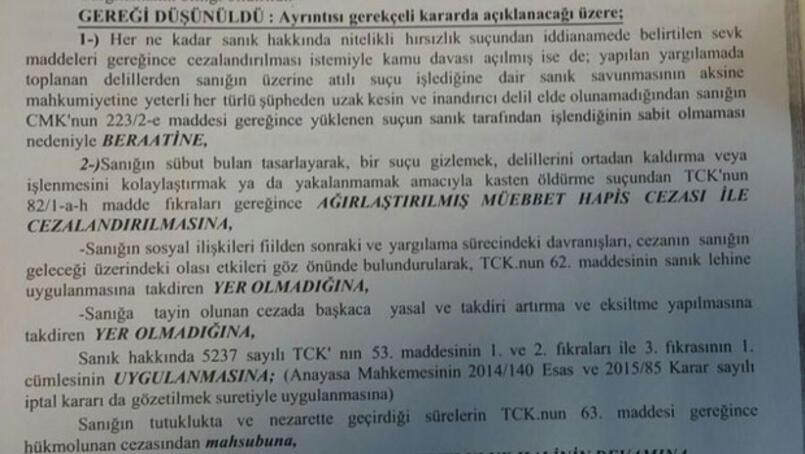 Son dakika ... Atalay Filizin cezası belli oldu