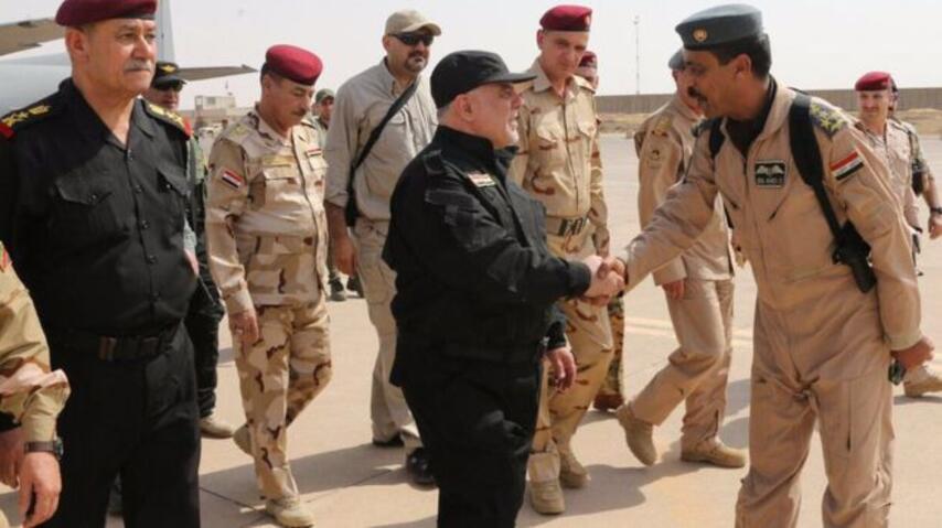 Irak başbakanı Musul merkezinde