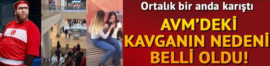 İstanbulda AVMyi karıştıran kavga