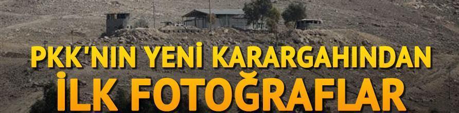 PKKnın yeni karargahından ilk fotoğraflar