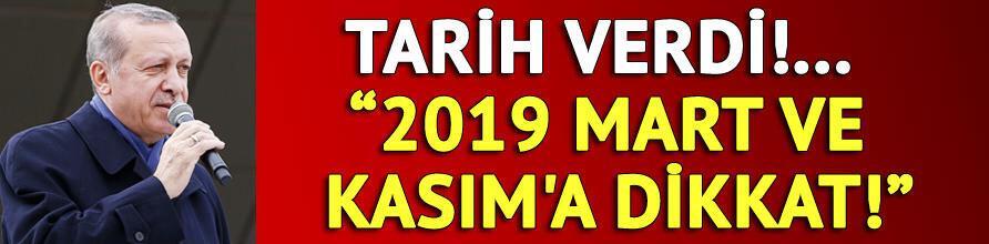 Cumhurbaşkanı Erdoğan referandumdan bir gün sonra 2019 mesajı verdi