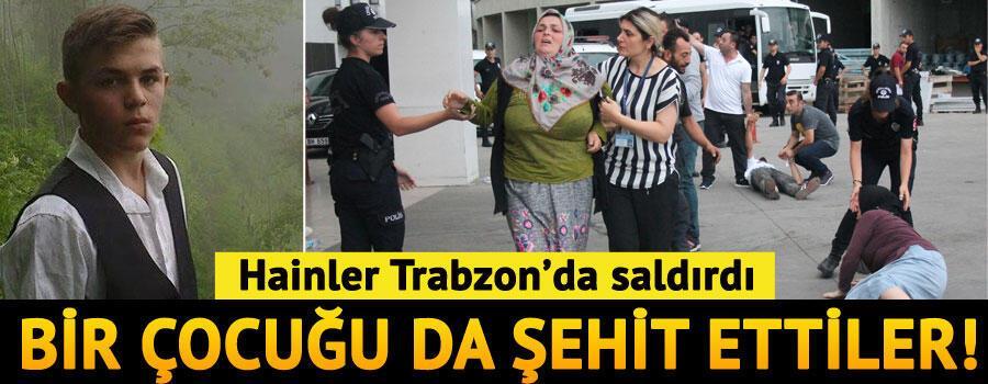 Son dakika... Trabzonda PKKlı teröristlerle çatışma çıktı...