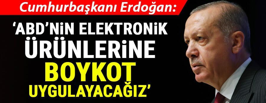 Cumhurbaşkanı Erdoğandan flaş sözler: Yapabileceğimiz iki şey var