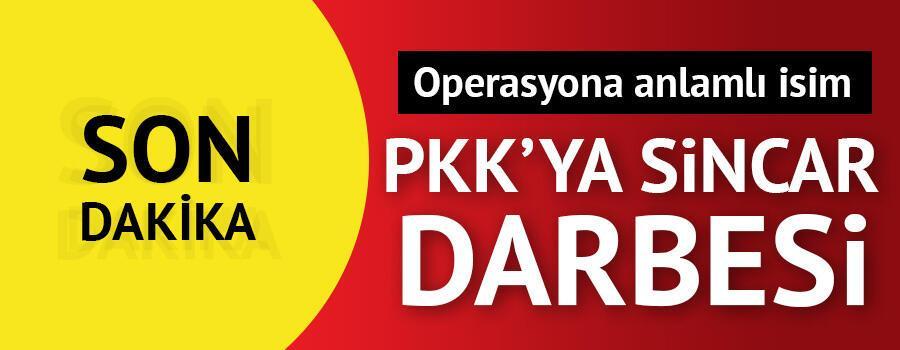 Son dakika: PKKya Sincar darbesi