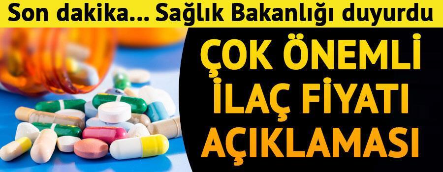 Son dakika... Sağlık Bakanlığından çok önemli ilaç fiyatı açıklaması