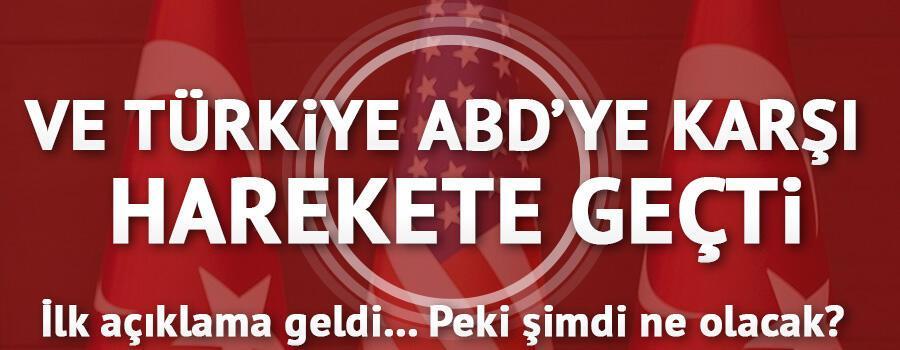 Türkiye ABDye karşı harekete geçti: DTÖ hamlesi