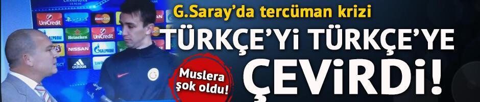Tercüman Türkçe'yi Türkçe'ye çevirdi!