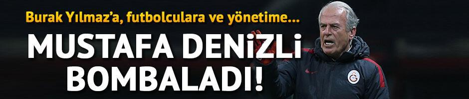 Mustafa Denizli bombaladı