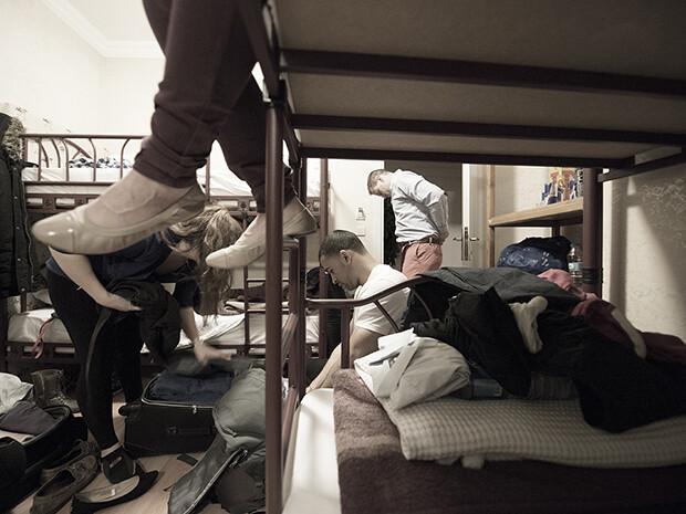 Sırt çantalıların hostel kardeşliği işte İstanbul'un genç turistleri
