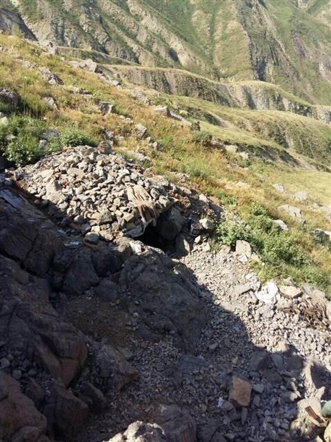 PKK'nın sığınakları bulundu